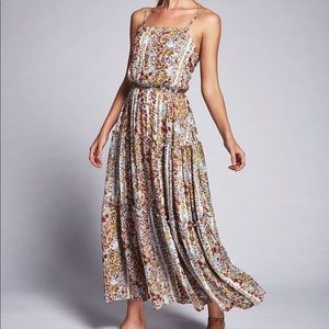 Free People Valerie Spring Garden Maxi Dress XS